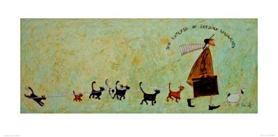 Sam Toft The Suitcase Of Sardine Sandwiches Art Print