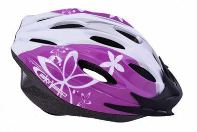 Ammaco MTB Road Womens/Girls Helmet Purple 54-59cm