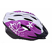 Ammaco MTB Road Womens/Girls Helmet Purple 54-59cm