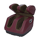 HOMCOM Foot Massager With Heating