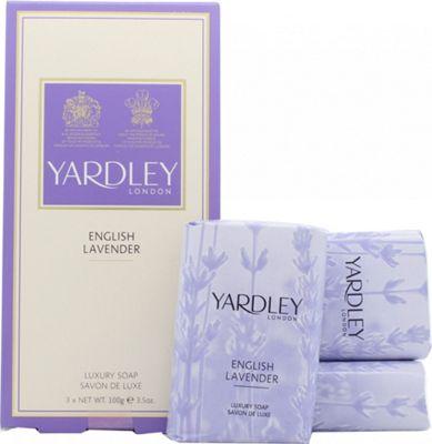 Yardley English Lavender Soap 3x 100g