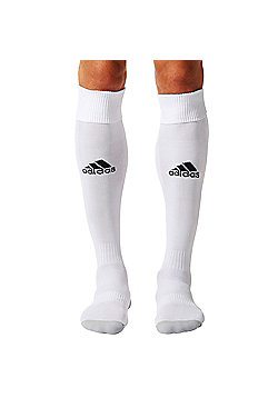 adidas Milano 16 Football Soccer Rugby Sport Socks - White