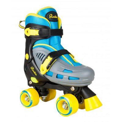 Rookie Duo Junior Childrens Quad Adjustable Roller Skates JNR 8 - 11