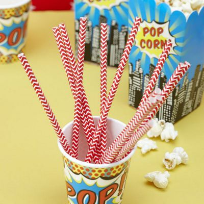 Discontinued - Red Paper Straws