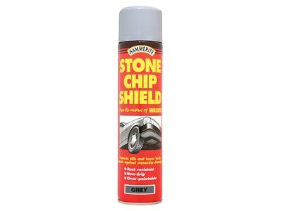 Hammerite Stonechip Shield White Aerosol 600ml