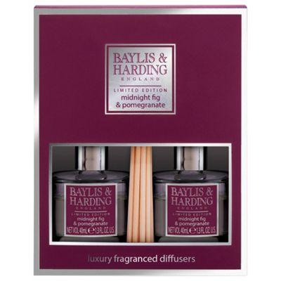 Baylis & Harding Fig &Pomegranate 2 Diffuser Set