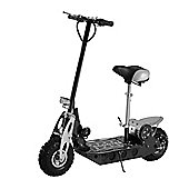 Homcom Electric E Scooter 36V 500W Battery Powered Ride on Chargeable Foldable in Black
