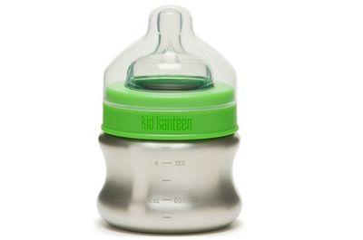 Klean Kanteen 5oz Stainless Baby Bottle