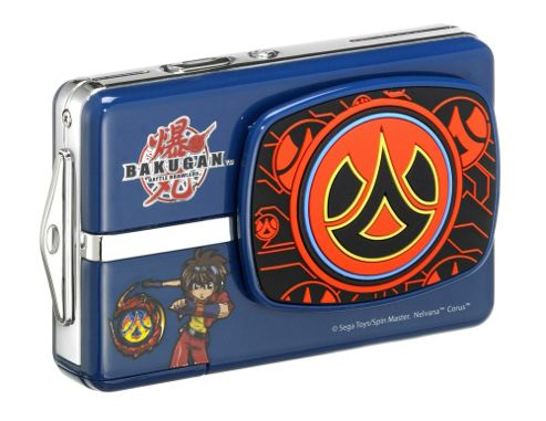 Bakugan BKCO20N Digital Camera, Blue, 5MP, 1x Optical Zoom, 2.4 inch LCD Screen