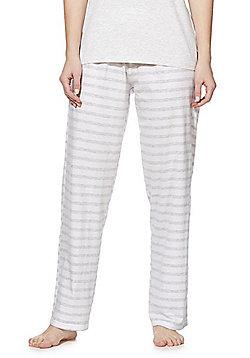 F&F Striped Lounge Pants - Multi white