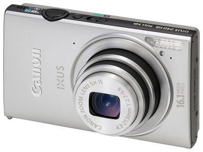 Canon Ixus 240 HS Digital Camera (Silver)