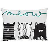 Tesco Meow Cats Cushion