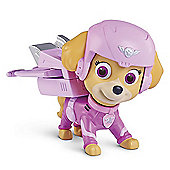 Paw Patrol Air Rescue Pup Figure with Badge - Skye