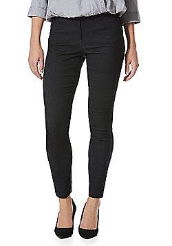 F&F Bengaline 5 Pocket Skinny Trousers - Charcoal
