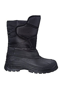 Sleet Snow Boot Black-Adult 10