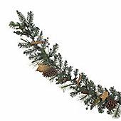 Cinnamon and Pinecone Christmas Garland, 6ft