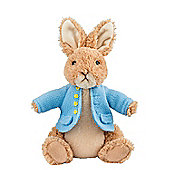 Beatrix Potter Medium Peter Rabbit 22cm Plush Soft Toy
