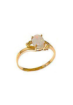 QP Jewellers 0.45ct Opal Classic Desire Ring in 14K Rose Gold