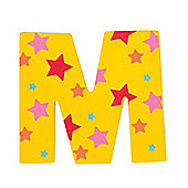 Bigjigs Toys Star Letter M (Yellow)