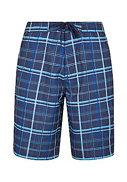 Mountain Warehouse Ocean Printed Mens Boardshorts - Blue
