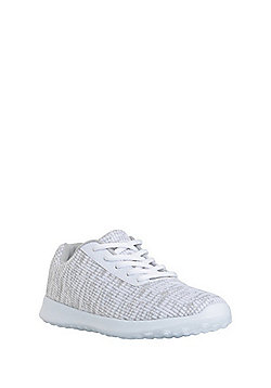 F&F Active Marl Knit Trainers - Marl grey