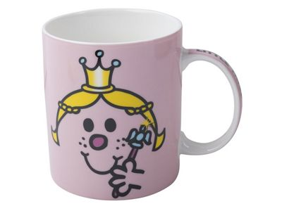 Creative Tops Mr Men Little Miss Princess Face Can Mug Cup