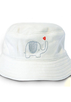 Natures Purest My First Friend - Sun Hat with Chin Strap - Cream