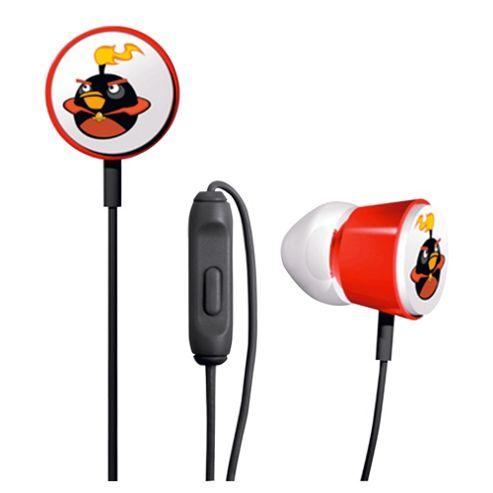 Gear 4 Red Tweeters AngryBirds Space Headphones