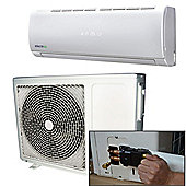 ElectrIQ eIQ-9WMINVQC Wall Mounted Inverter Air Conditioner, 9000 BTU - White