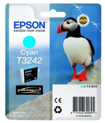 Epson Printer ink cartridge for SureColor SC-P400 - Cyan