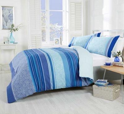 Rapport Havana Teal Duvet Cover Set - King