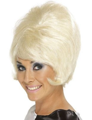 Smiffy's - 60's Beehive Wig - Blonde