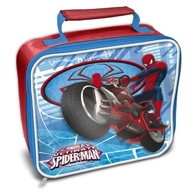 Spiderman 'Web' Rectangle Insulated Premium Lunch Bag