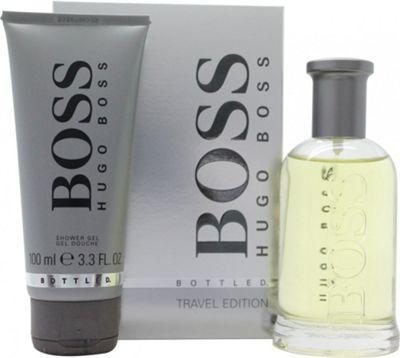 Hugo Boss Boss Bottled Gift Set 100ml EDT + 100ml Shower Gel For Men
