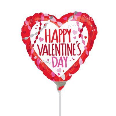 Valentine's Streamers & Confetti Mini Shape