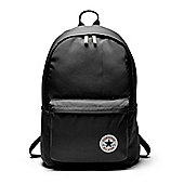 Converse All Star EDC Poly Backpack School Shoulder Bag - Black