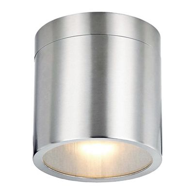 Modern GU10 Stainless Steel Outdoor Ceiling Porch Light