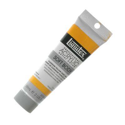 Liquitex Soft Body 59ml Tb Cadmium Yellow Deep Hue