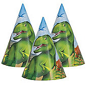 Dinosaur Adventure Party Hats