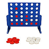 Deluxe Wooden 4 in a Row Style Garden Game