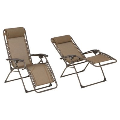 buy gravity recliner sun lounger tweed from our sun. Black Bedroom Furniture Sets. Home Design Ideas