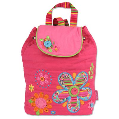 Children's Pink Flowers Signature Backpack