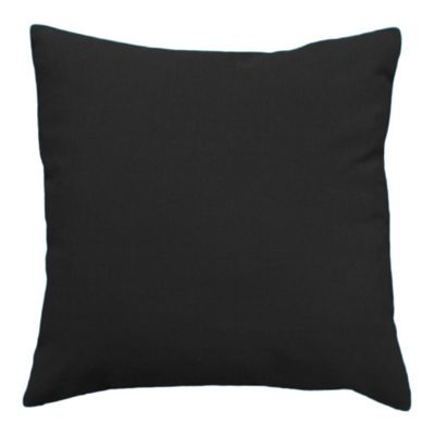 Outdoor Water Resistant Black Scatter Cushion
