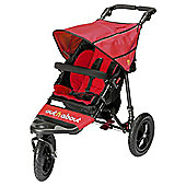 Out n About Nipper Single Pushchair V4, Carnival Red