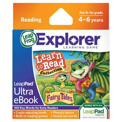 LeapFrog® LeapPad™ Ultra eBook Learn to Read Collection: Fairy Tales