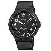 Casio MW-240-1BVEF Mens Analogue Watch│Resin Strap/Glass/Band│50M WR│Black│New│