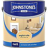 Johnstones No Ordinary Paint Water Based Interior Vinyl Matt Emulsion Tester Pot English Trifle 75ml