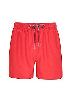 Mountain Warehouse Aruba Mens Swim Shorts - Red