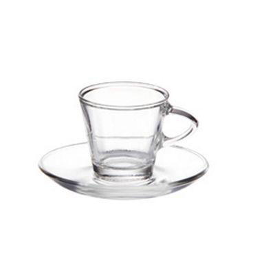 Eddingtons Espresso 2 Cup & Saucer Set, 80 ml.