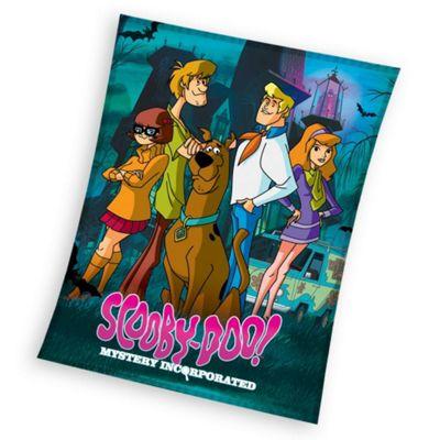 Scooby Doo Mystery Fleece Blanket